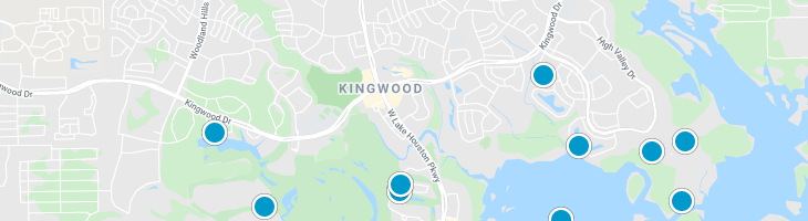 Search By Map : Kingwood Texas Homes For Sale