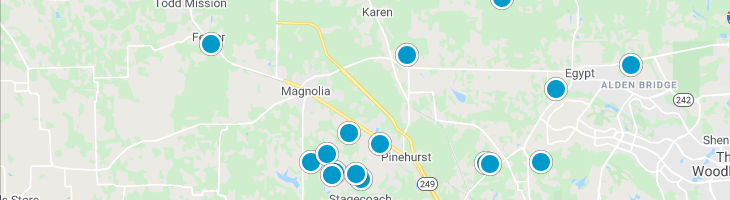 Search By Map : Magnolia Texas Homes For Sale
