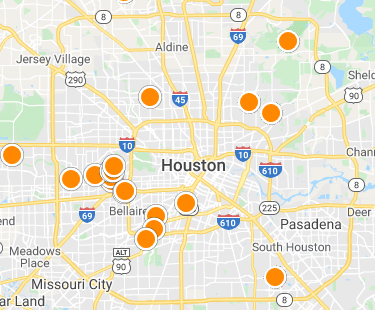 Interactive Rental Map Search