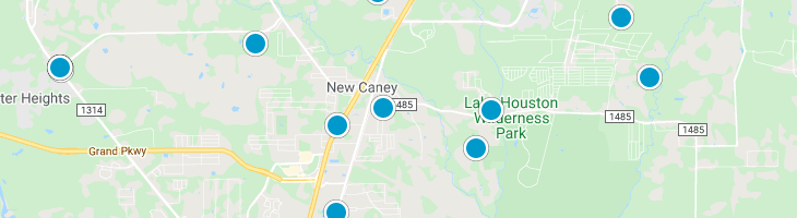 Search By Map : New Caney Texas Homes For Sale