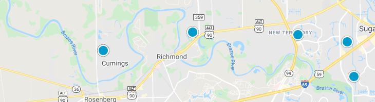 Search By Map : Richmond Texas Homes For Sale