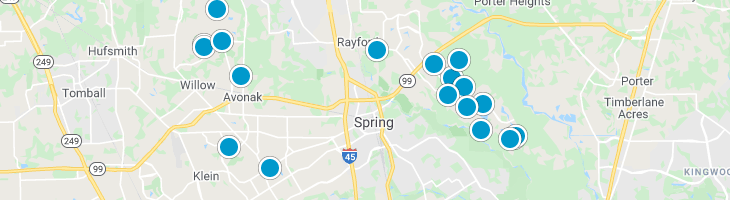 Search By Map : Spring Texas Homes For Sale