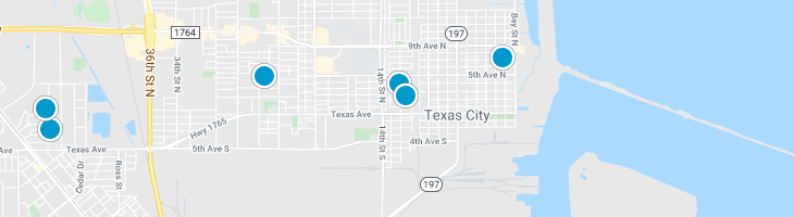 Search By Map : Texas City Texas Homes For Sale