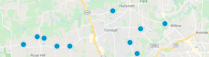 Search By Map : Tomball Texas Homes For Sale