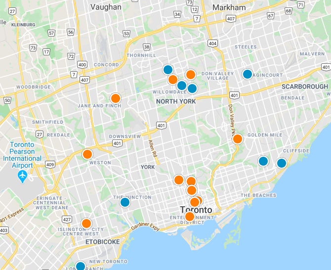 Toronto Real Estate Map Search