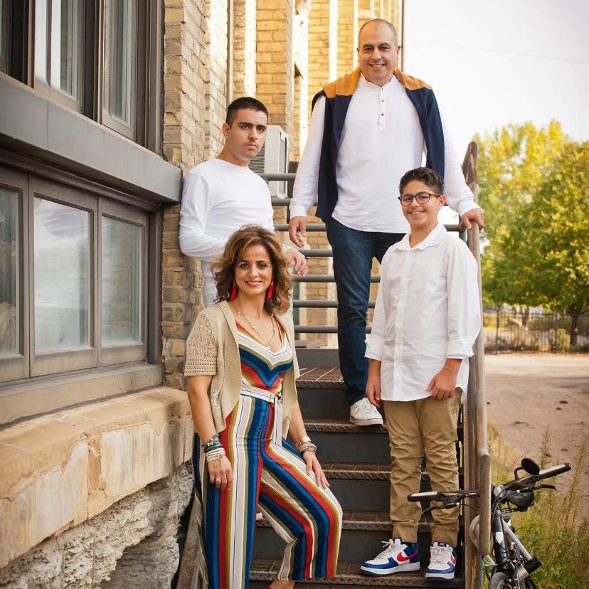 Tony Farah family