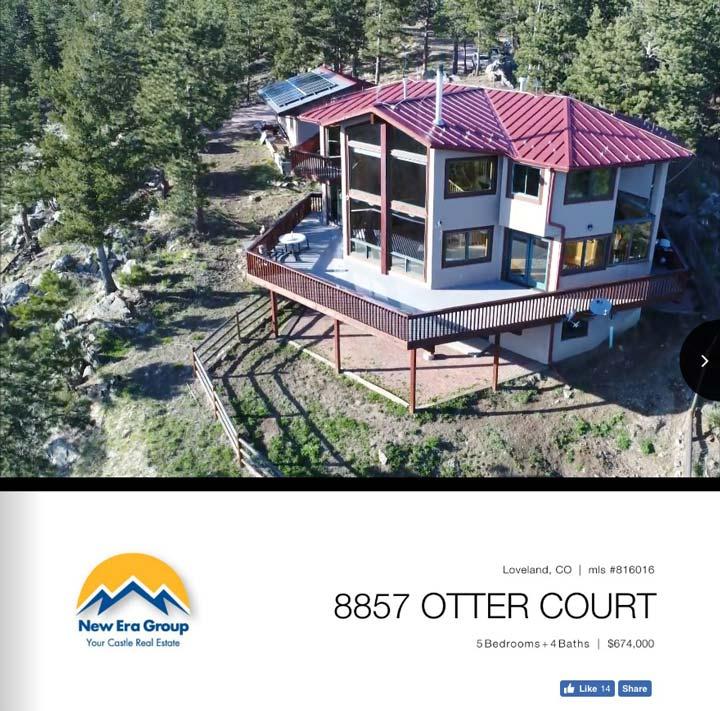 Unique mountain house close to town