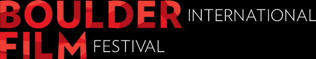 Logo image text reads: Boulder International Film Festival