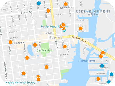 Southwest Florida Real Estate Map Search
