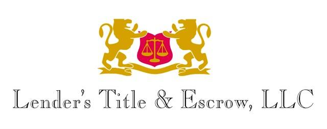 Lender's Title And Escrow