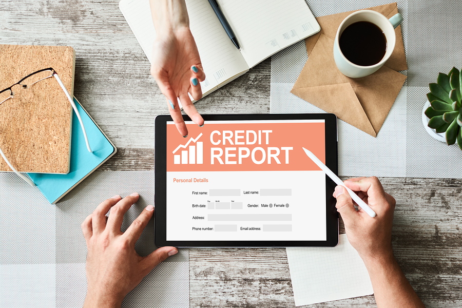 Ask for a credit report before buying Dawson Springs real estate.