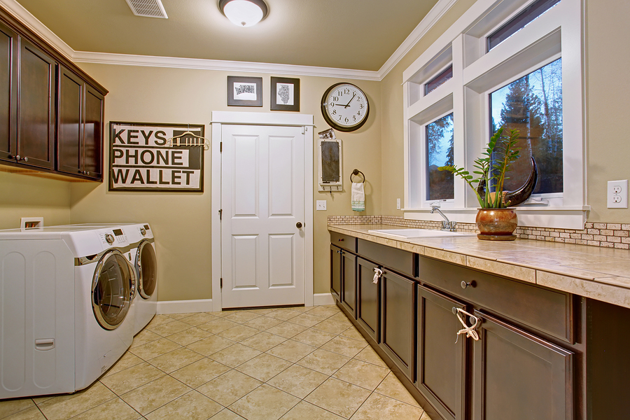 Upgrade Providence property with a new laundry room.