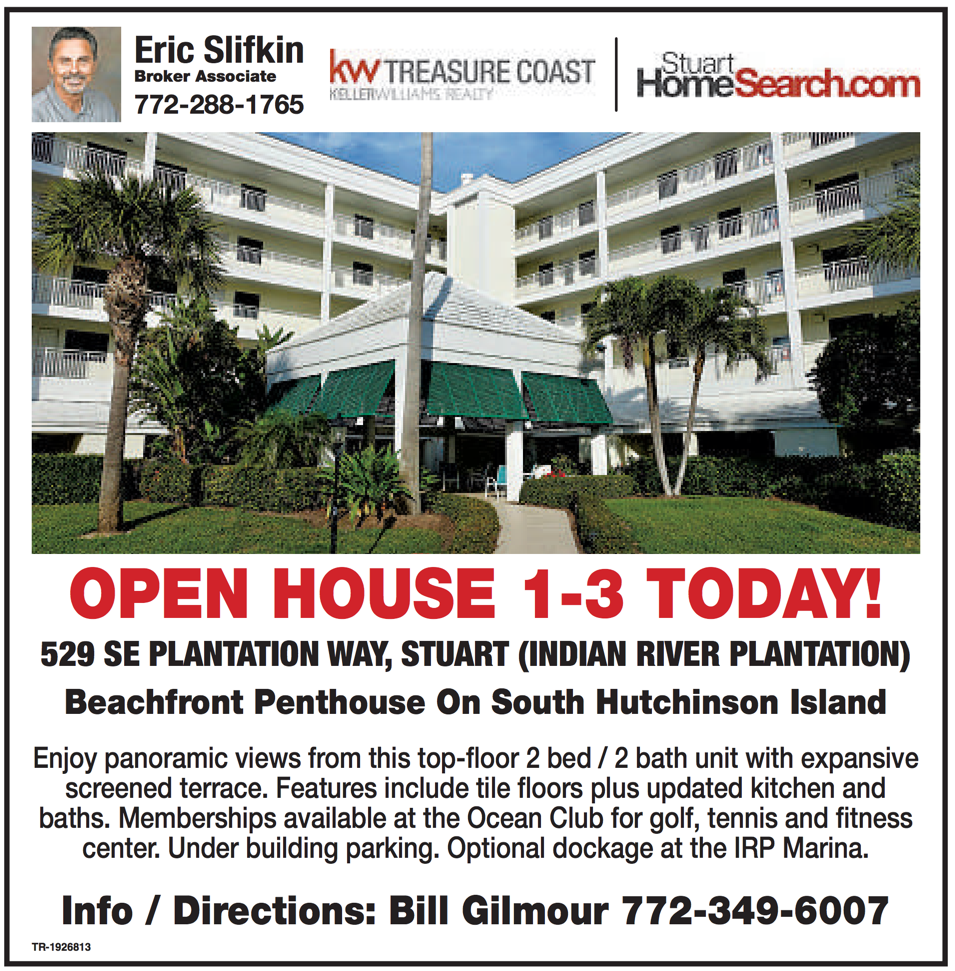 Stuart News Open House Ad