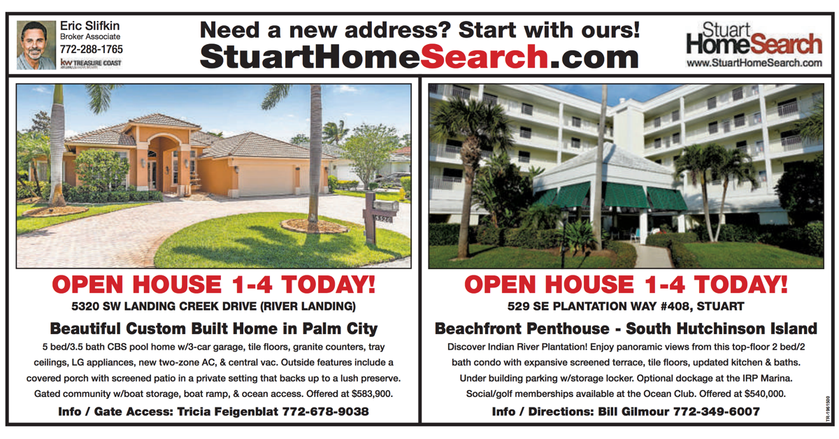 Open Houses Today in Stuart, FL