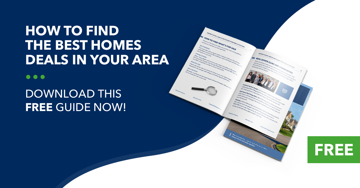 How to find the best home deals in your area.