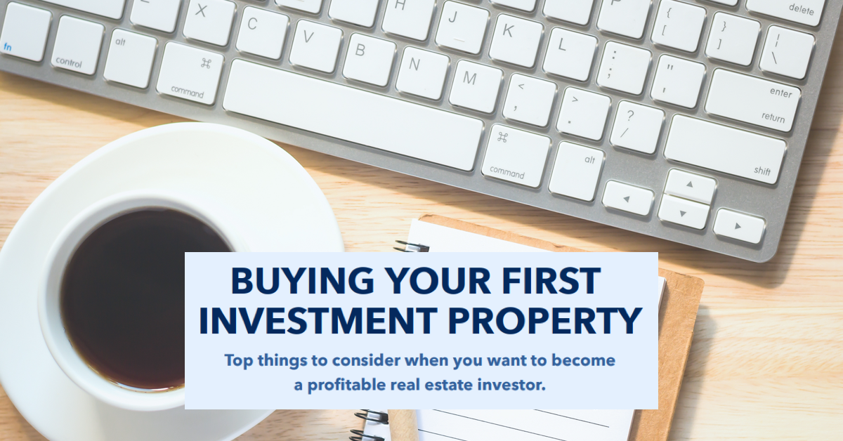Buying Youyr First Investment Property