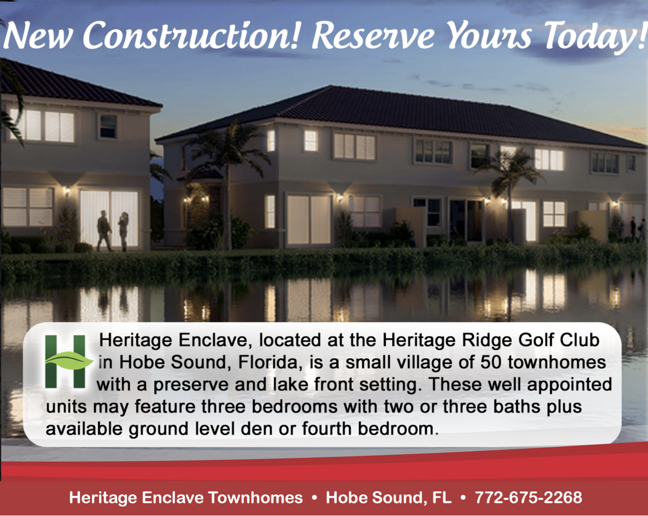 New Dev Townhomes in Hobe Sound, FL