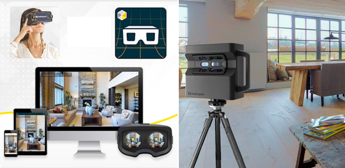3D Real Estate by Matterport