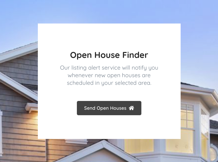 Open House Finder