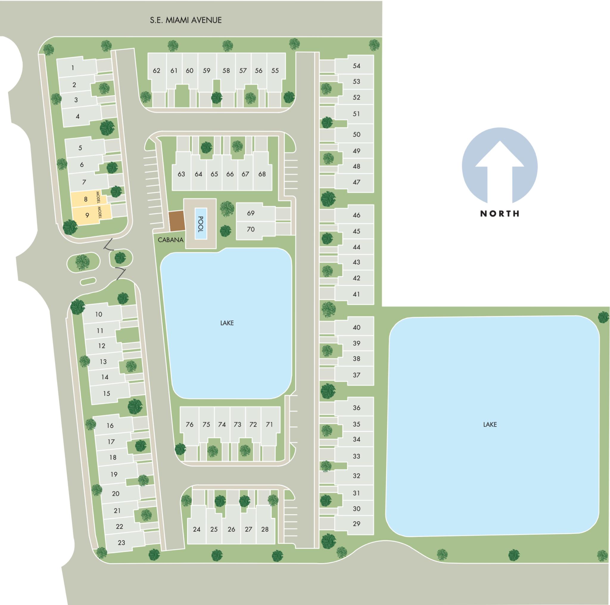 Trillium Site Plan
