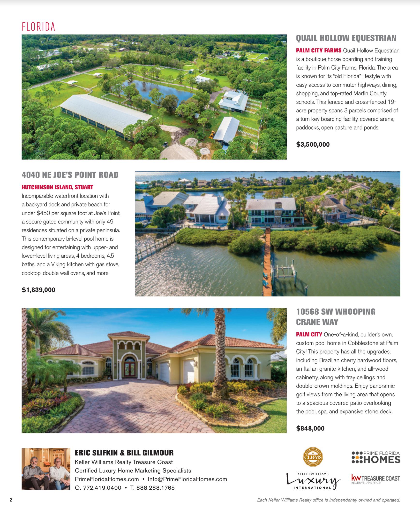 Unique Homes - KW Luxury Magazine