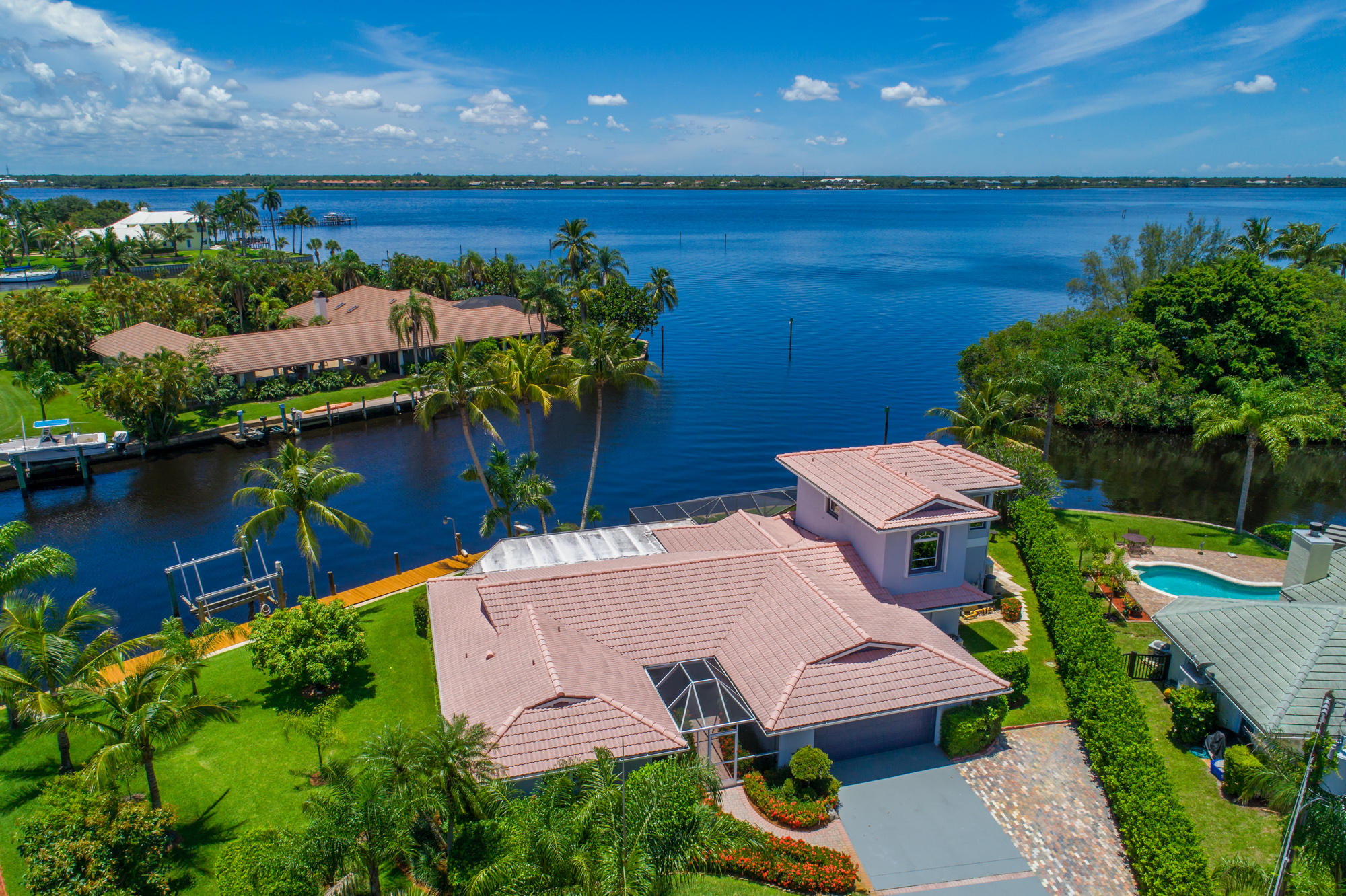 Stuart FL Waterfront Home