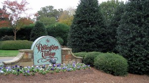 Potterstone village entrance sign