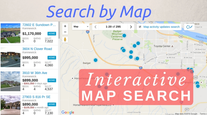 Kennewick Zip Code Map.Tri Cities Real Estate Search