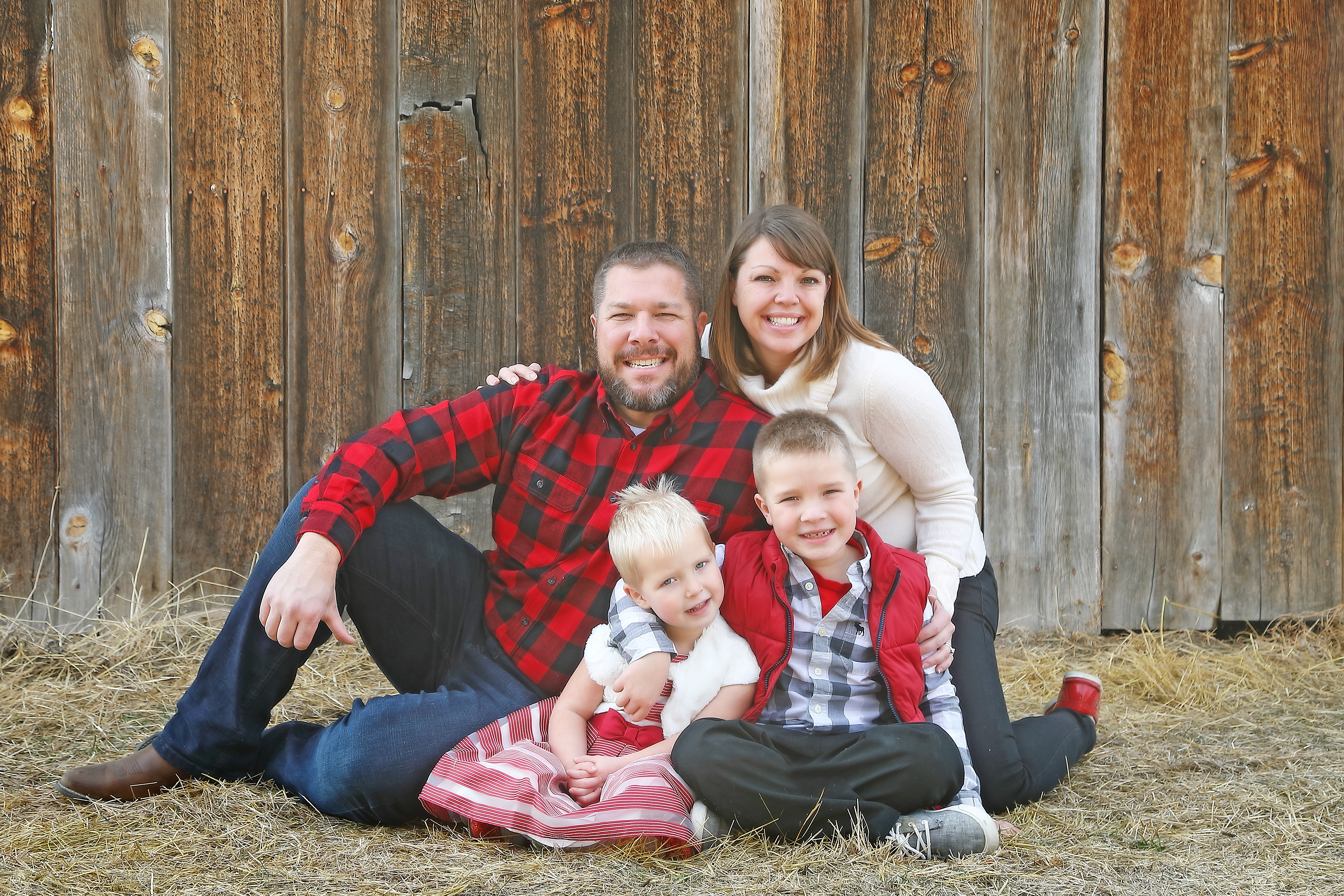 Anna Strausbaugh Family Photo