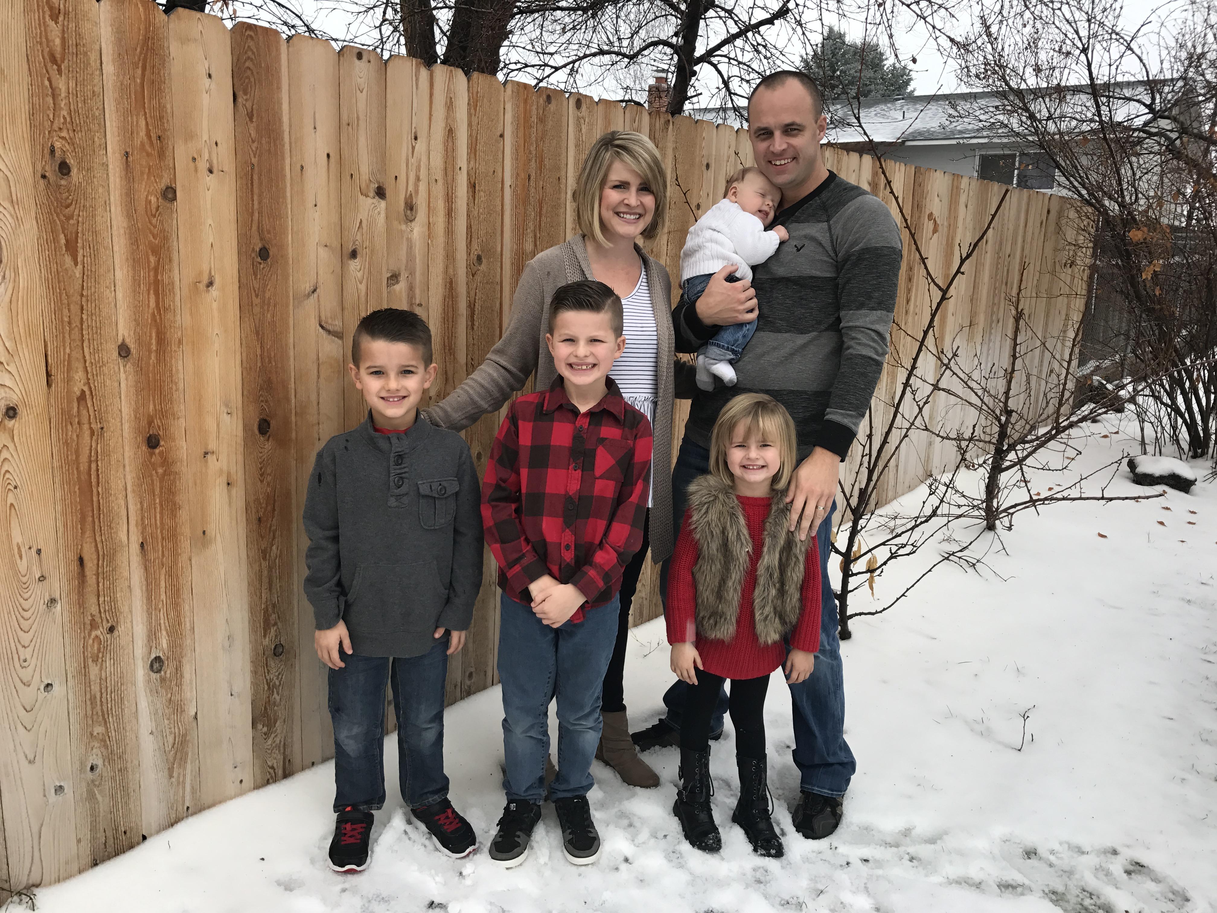 Mark Gould Family Photo