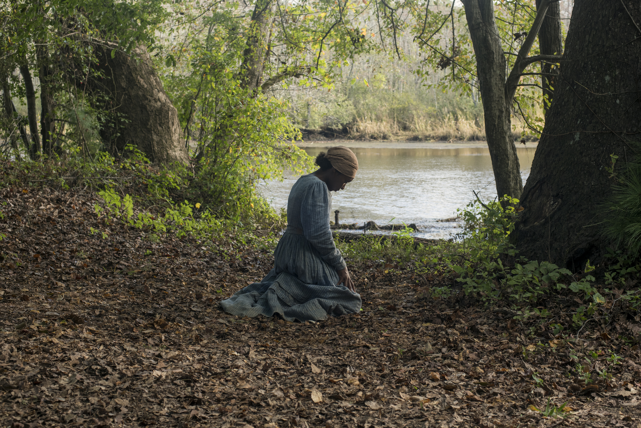 Harriet Praying from the movie Harriet
