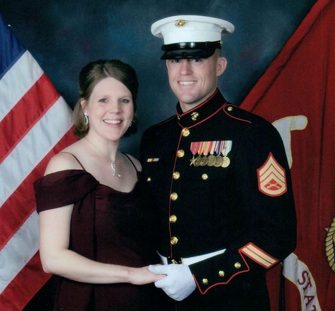 Luke & Katie Miller Marine Corp Ball