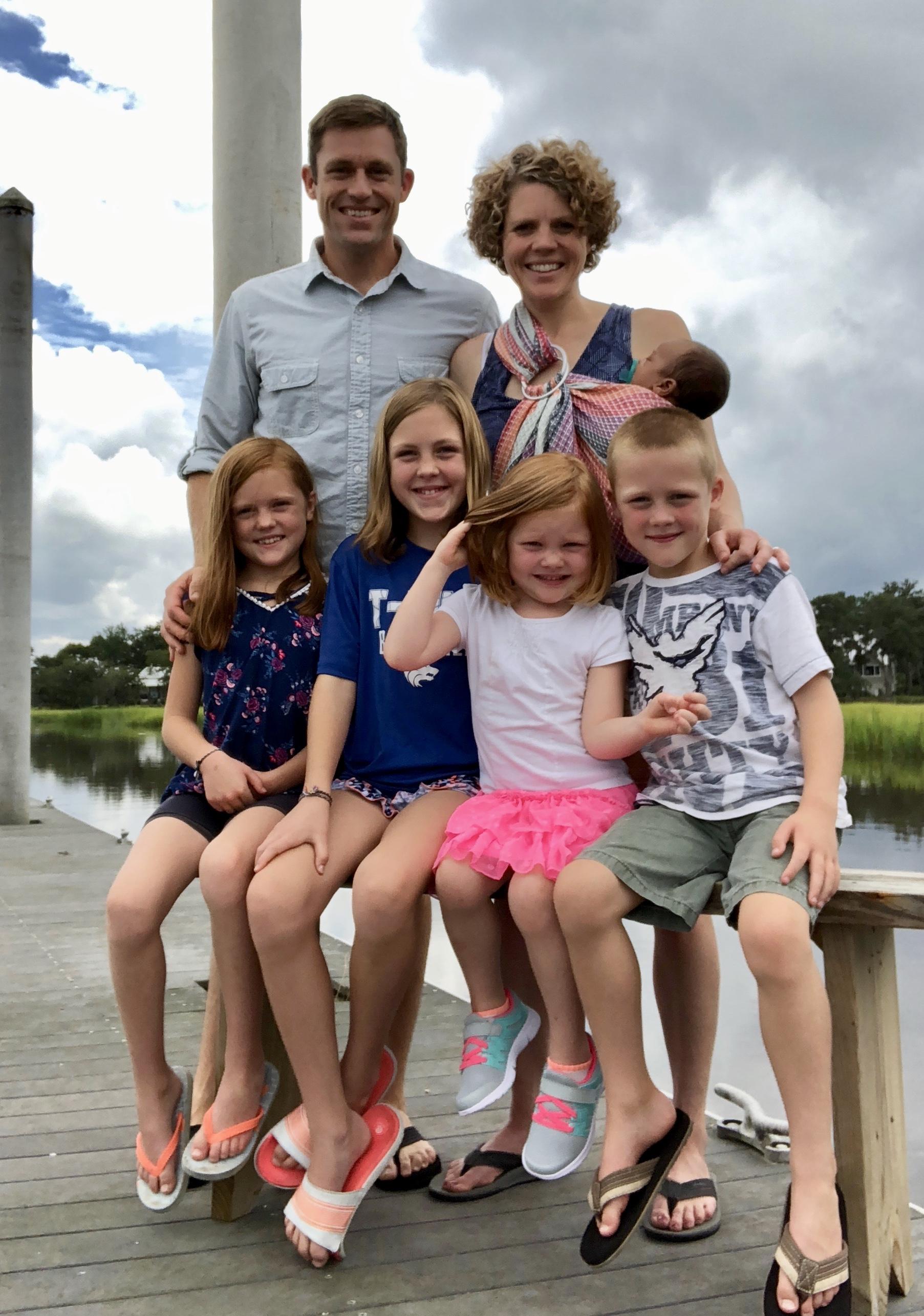 Miller Adoption Family of 7
