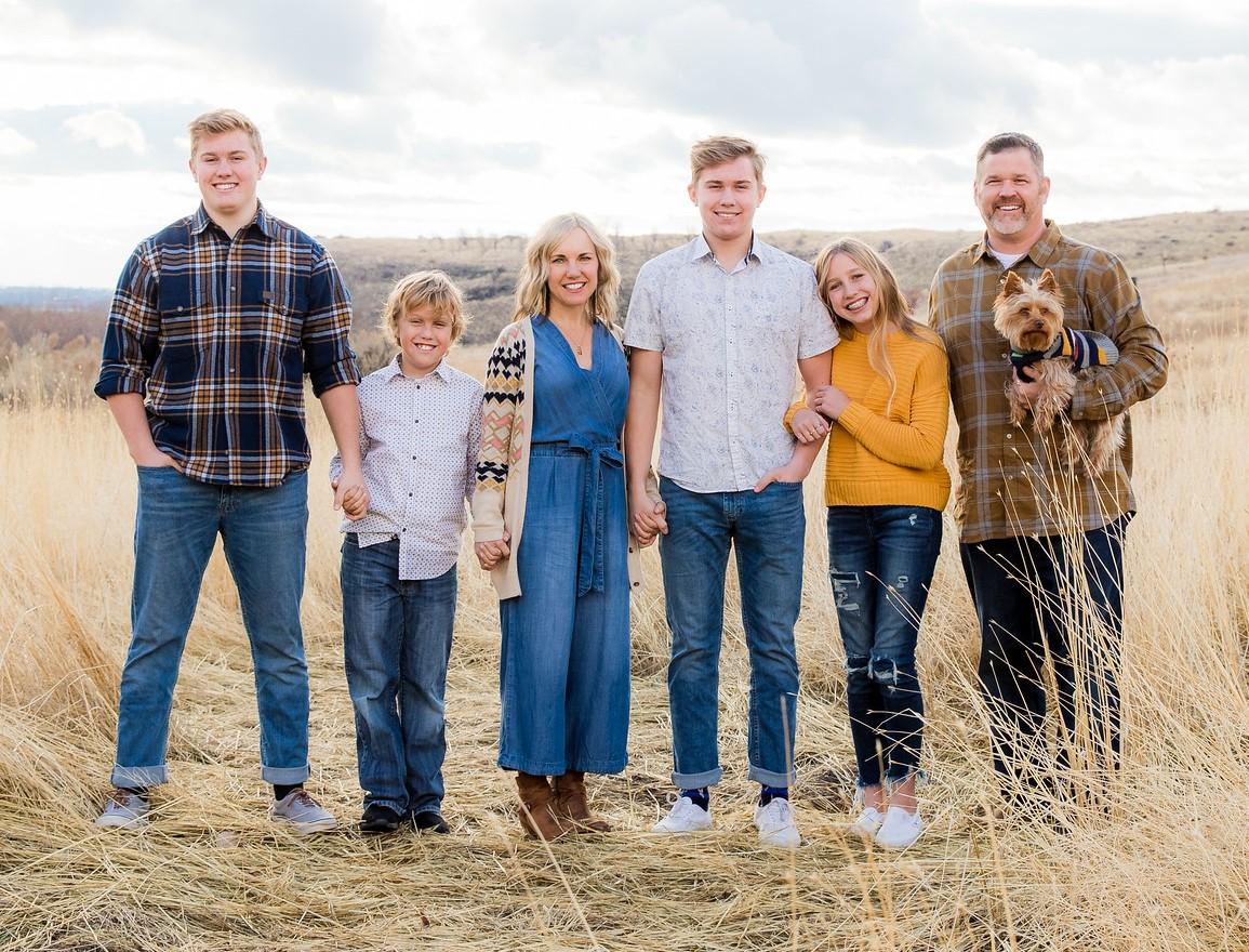 Sara Walker Family Photo