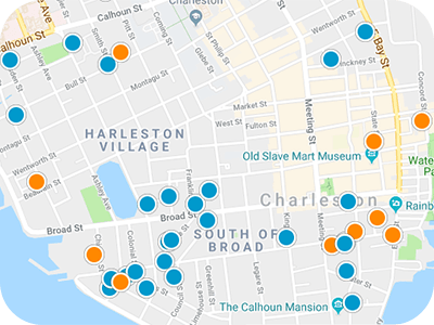 Charleston Real Estate Map Search