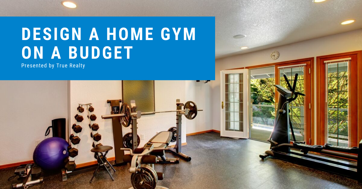 Design a workout space on a budget
