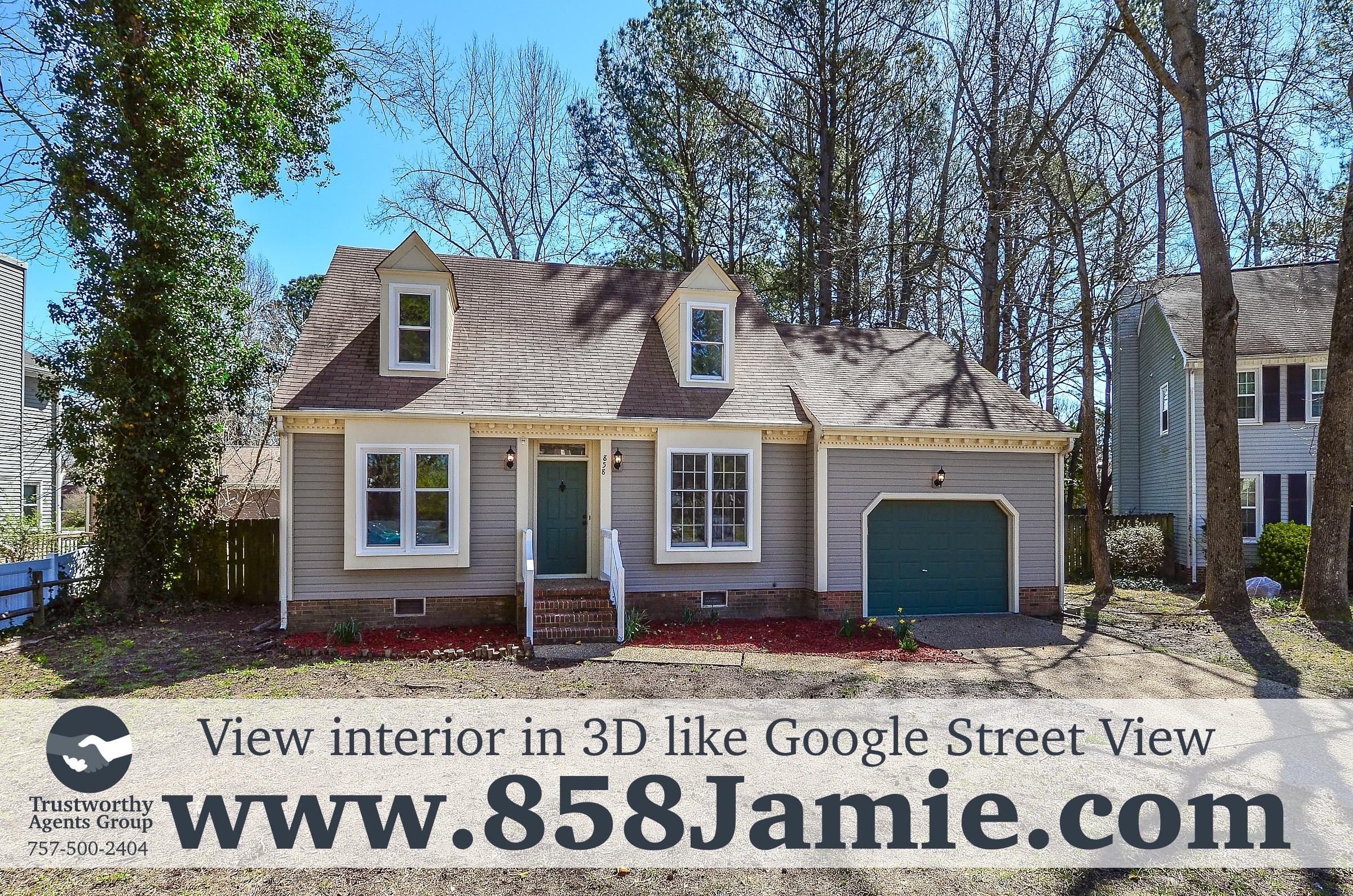 Home For Sale 858 Jamie Ct Newport News Va 23608