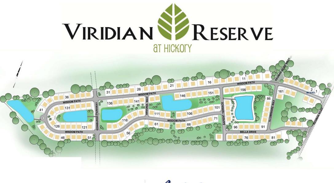 Viridian Reserve Site Plan