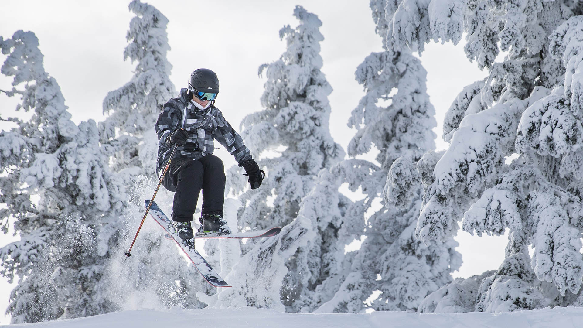 Skiing at Mt. Bachelor - Things to do in Bend March 2019