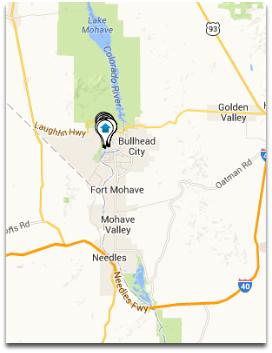 Laughlin NV Real Estate Map
