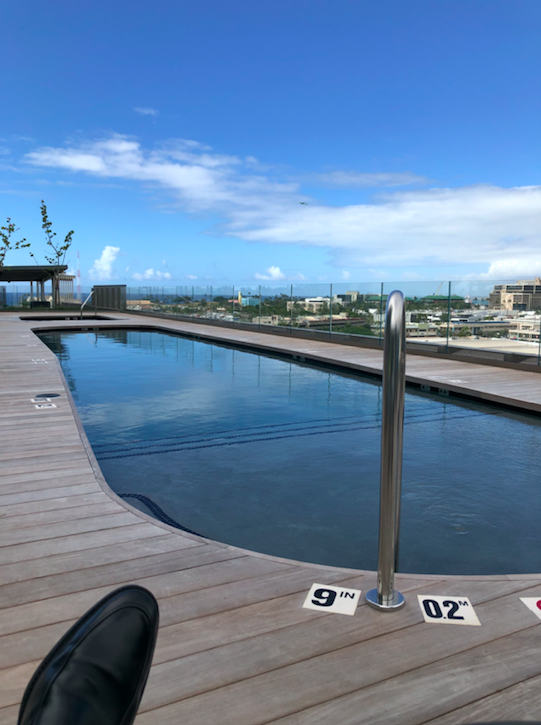 Aeo Pool Amenity Kakaako Ward Village