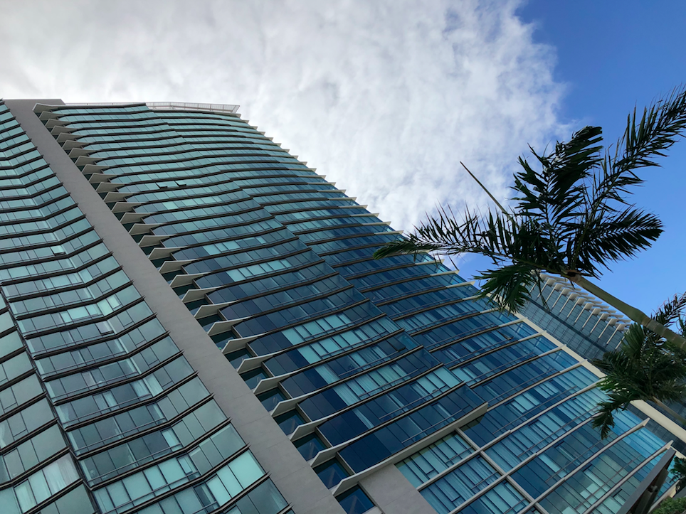 Ae'o Condo Tower in Kakaako, Honolulu