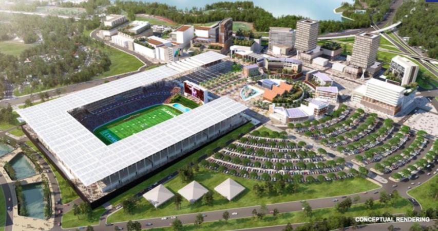 Aloha Stadium Redevelopment Rendering Aiea Halawa