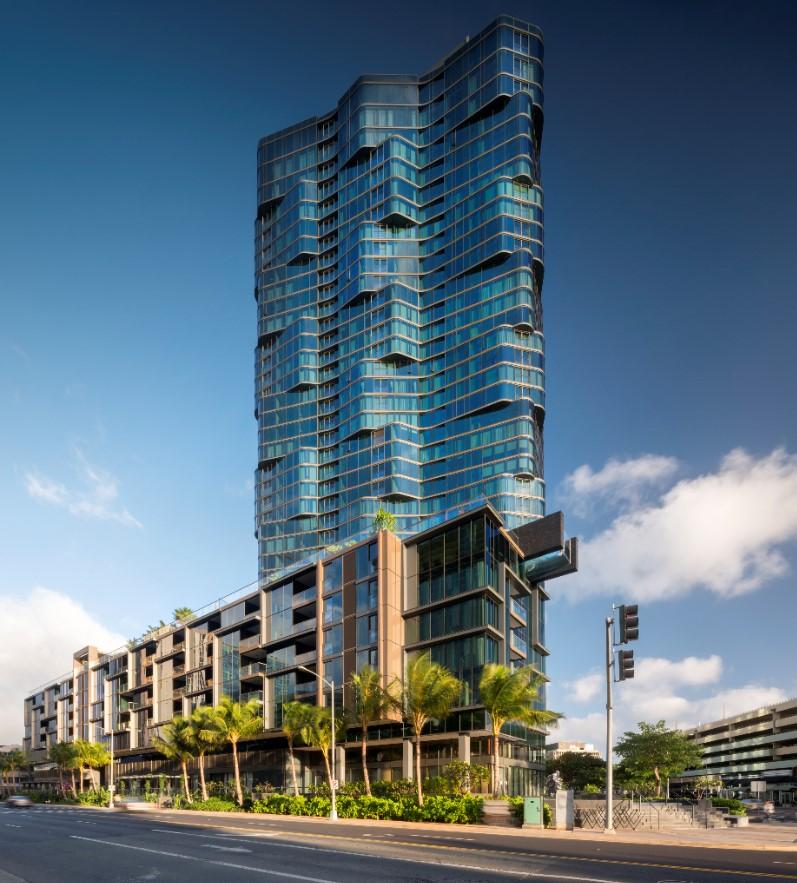 Anaha condo building rendering