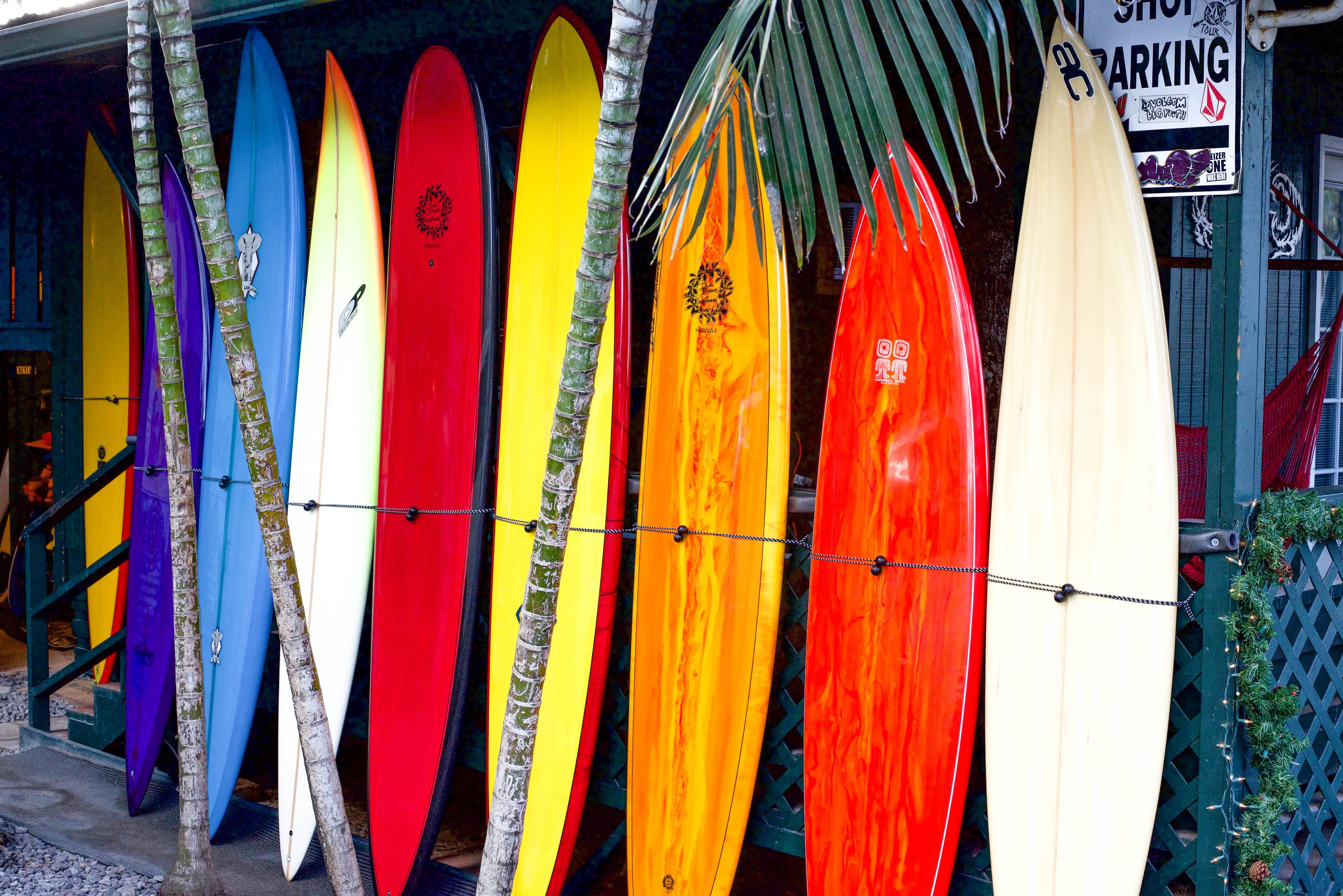 Kakaako neighborhood surboards