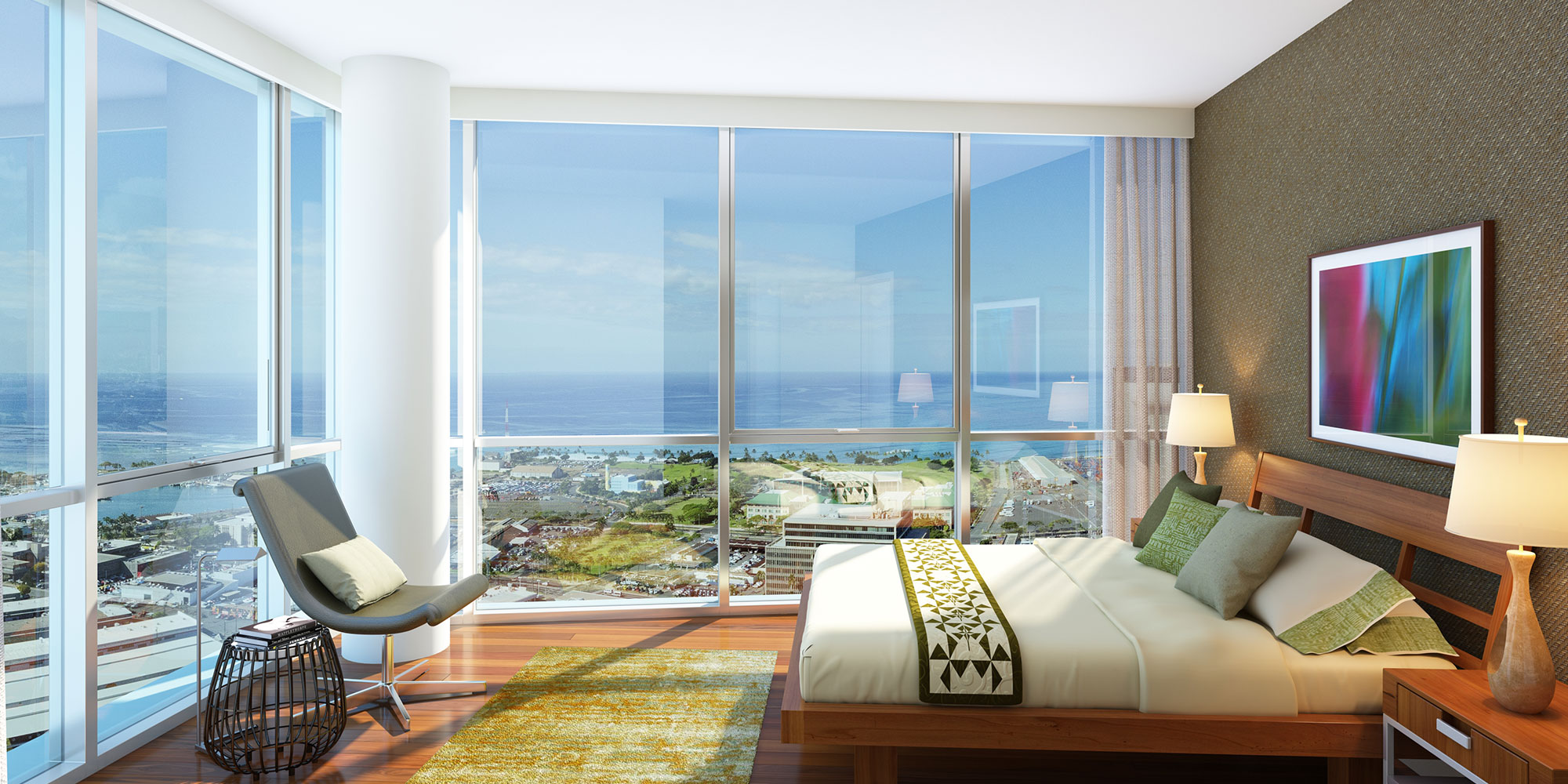 Keahou Place honolulu condo interior photo