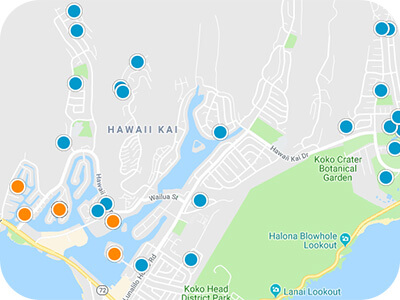 Oahu Real Estate Map Search