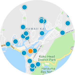 Kakaako, Honolulu, Oahu Condos for Sale Interactive Map Search