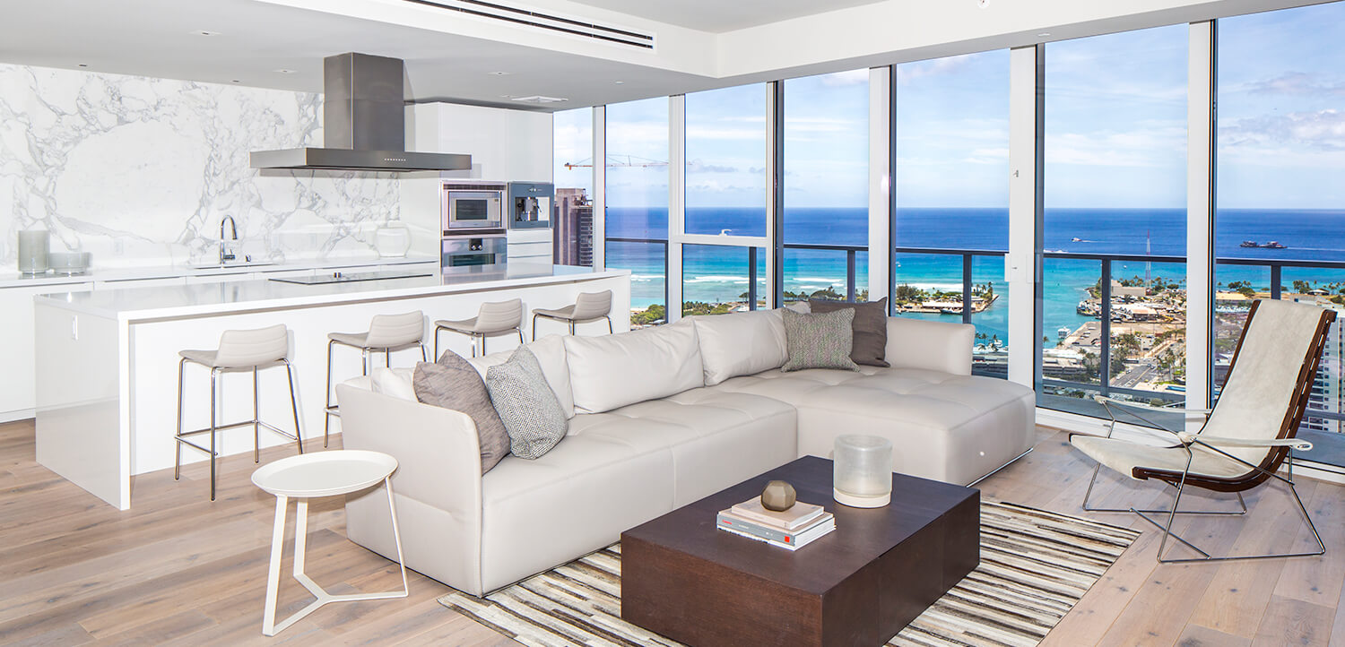 Symphony Honolulu condo interior