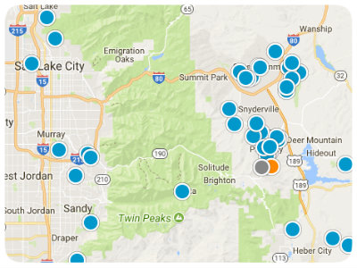 Utah Real Estate Map Search